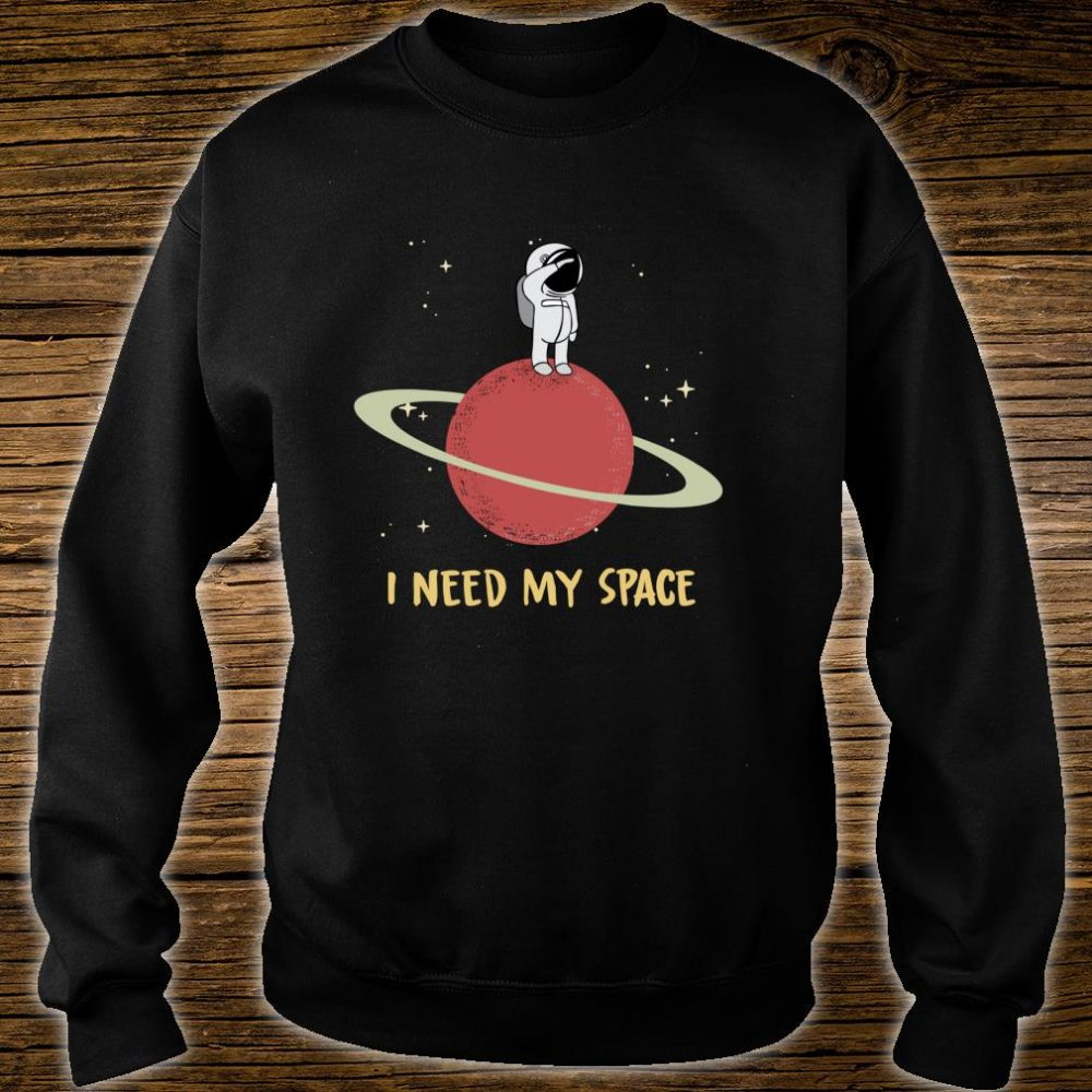 I need my space vintage,moon,stars astronaut searching alien Shirt sweater