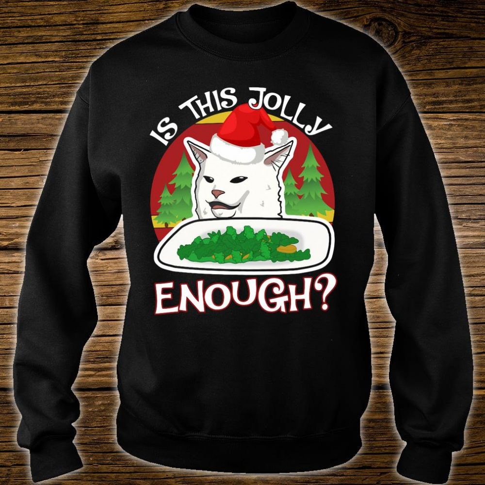 Is this jolly enough shirt sweater