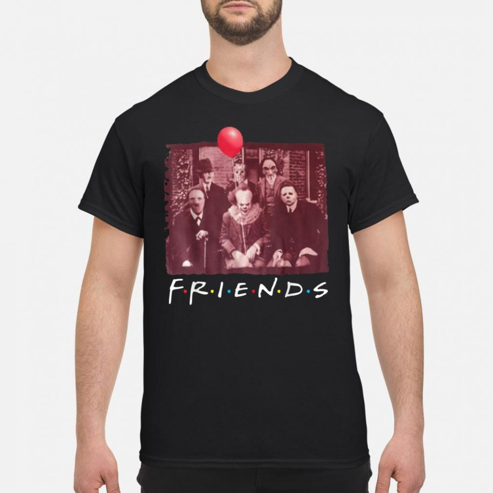 Jason With Friends Halloween Horror Shirt