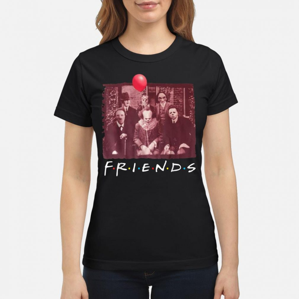 Jason With Friends Halloween Horror Shirt ladies tee