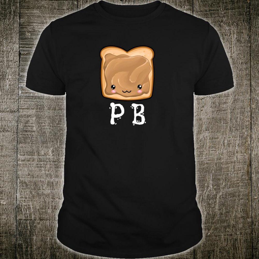 Kawaii PB&J Peanut Butter & Jelly Halloween Twins Matching Shirt