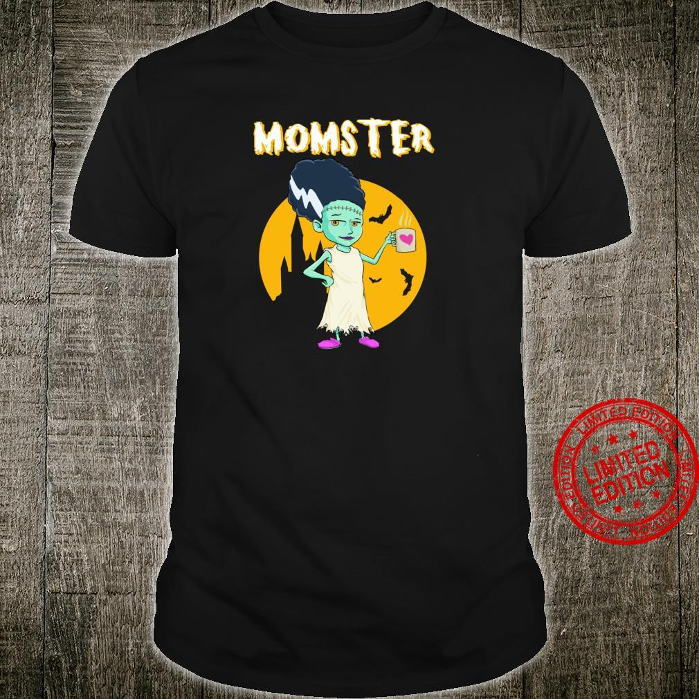 Lustiges MutterHalloweenMonstergeschenk der Mutter Shirt