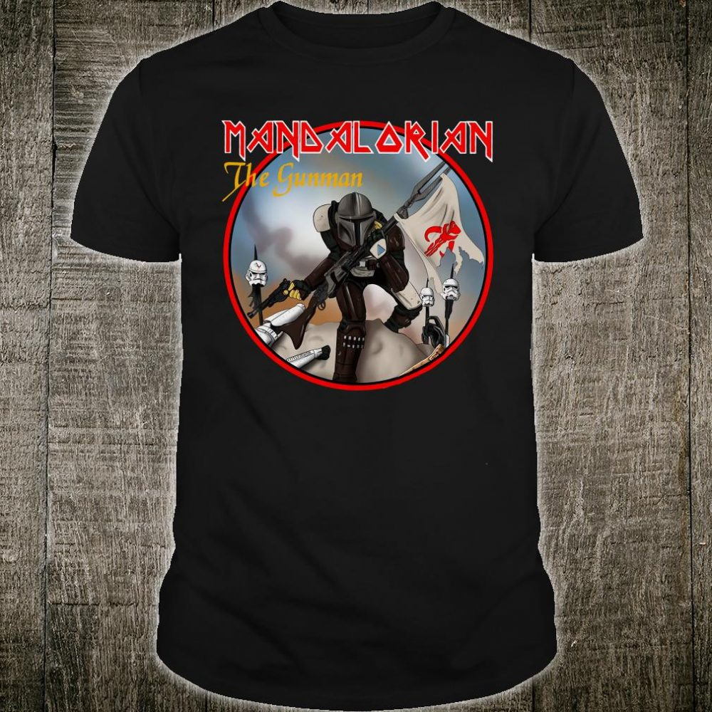 Mandalorian the gunman shirt