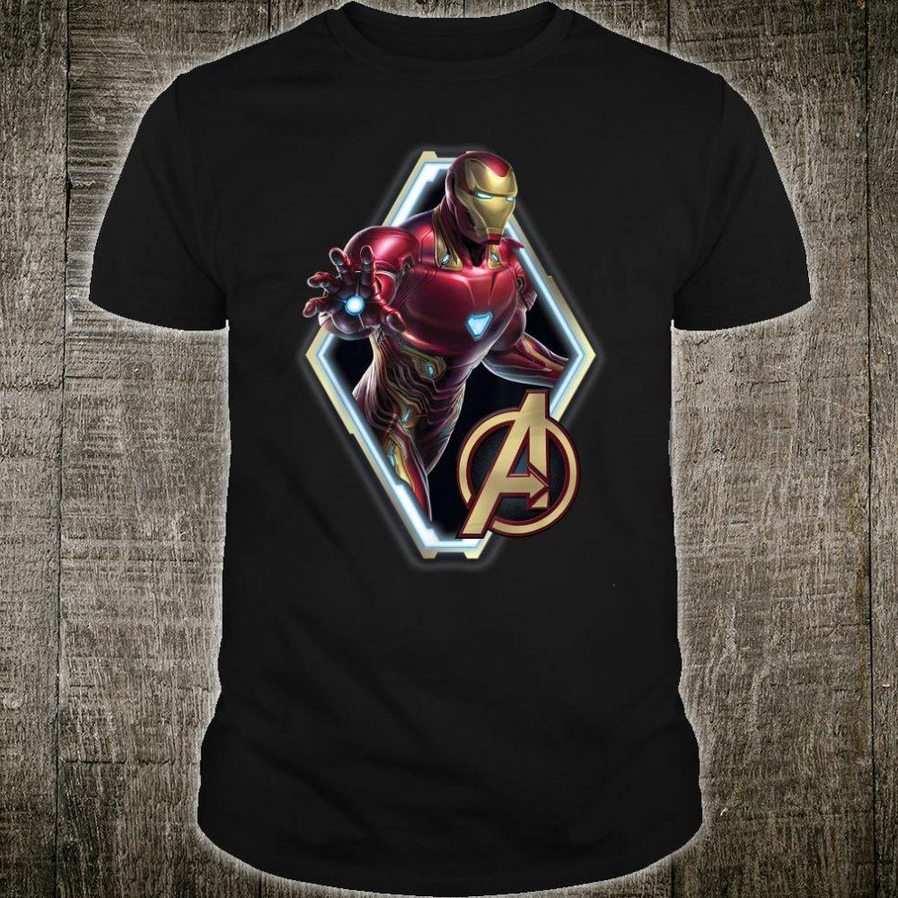 Marvel Avengers Endgame Iron Man Logo Shirt