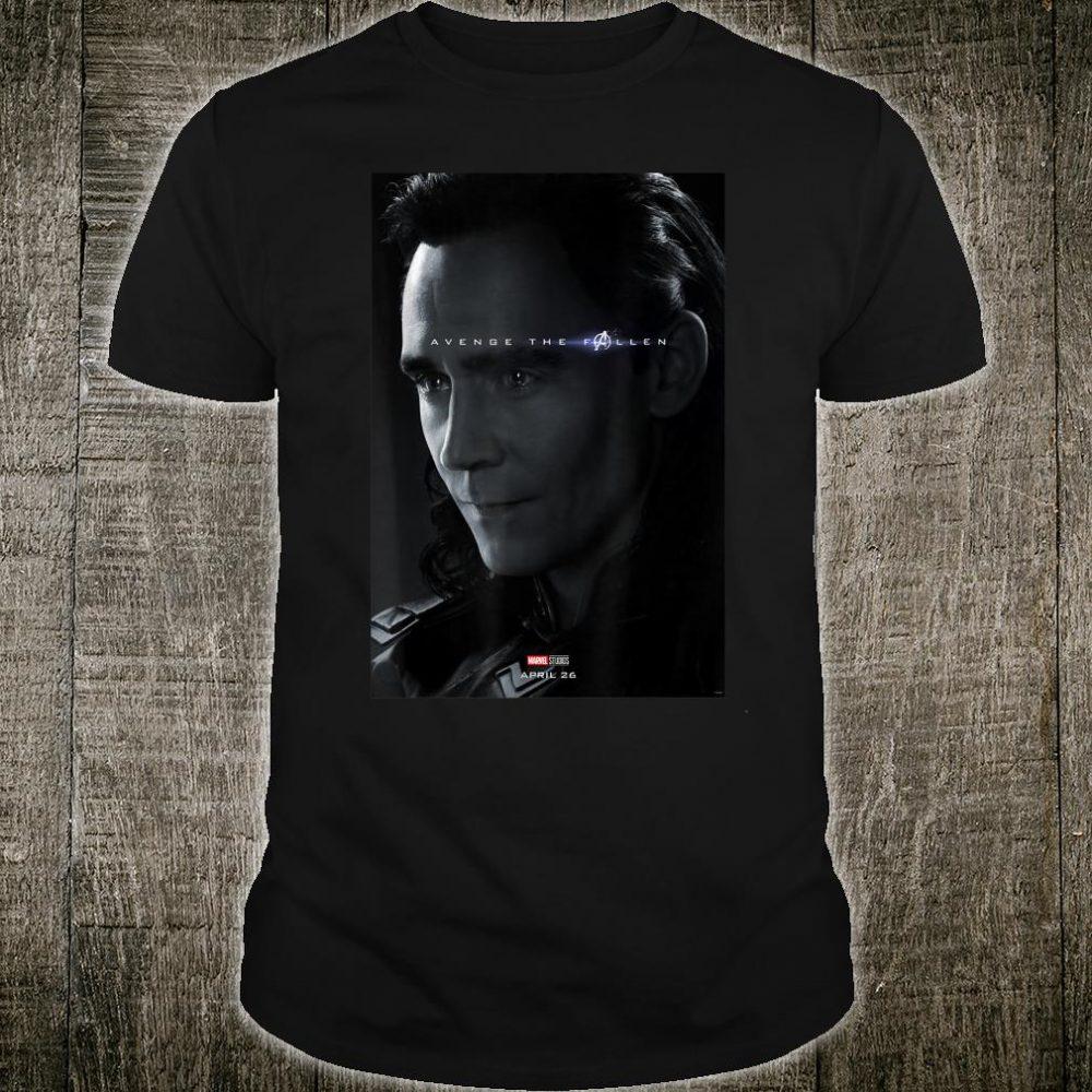 Marvel Avengers Endgame Loki Avenge The Fallen Poster Shirt