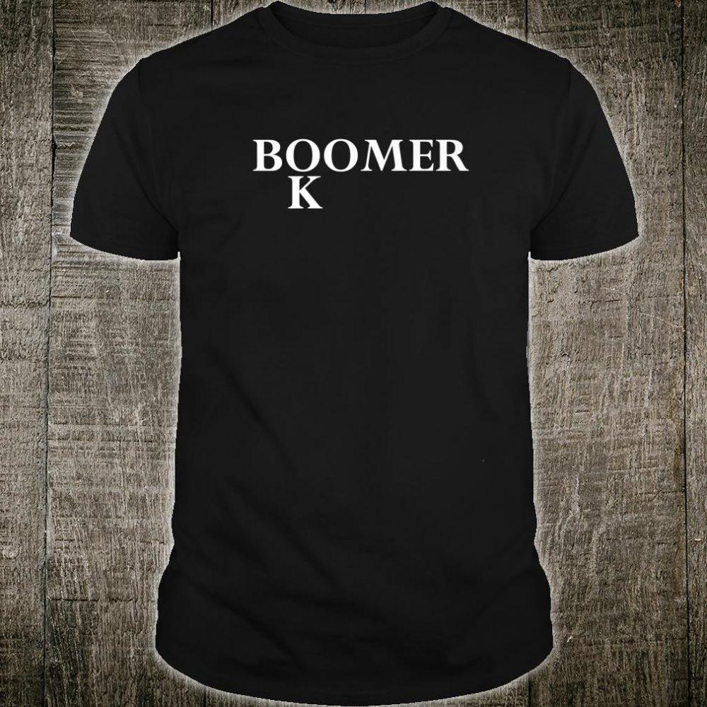 Mens OK Boomer Boomer Shirt