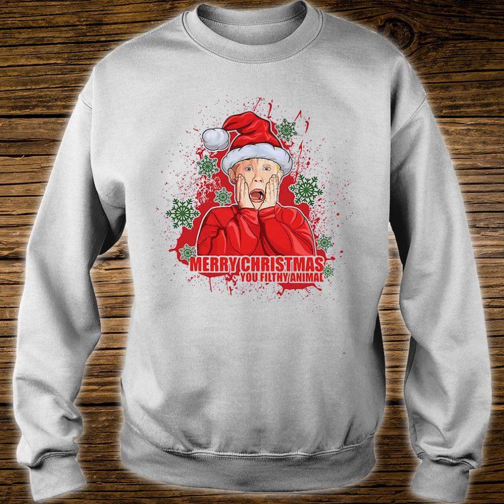Merry Christmas you filthy animal shirt sweater