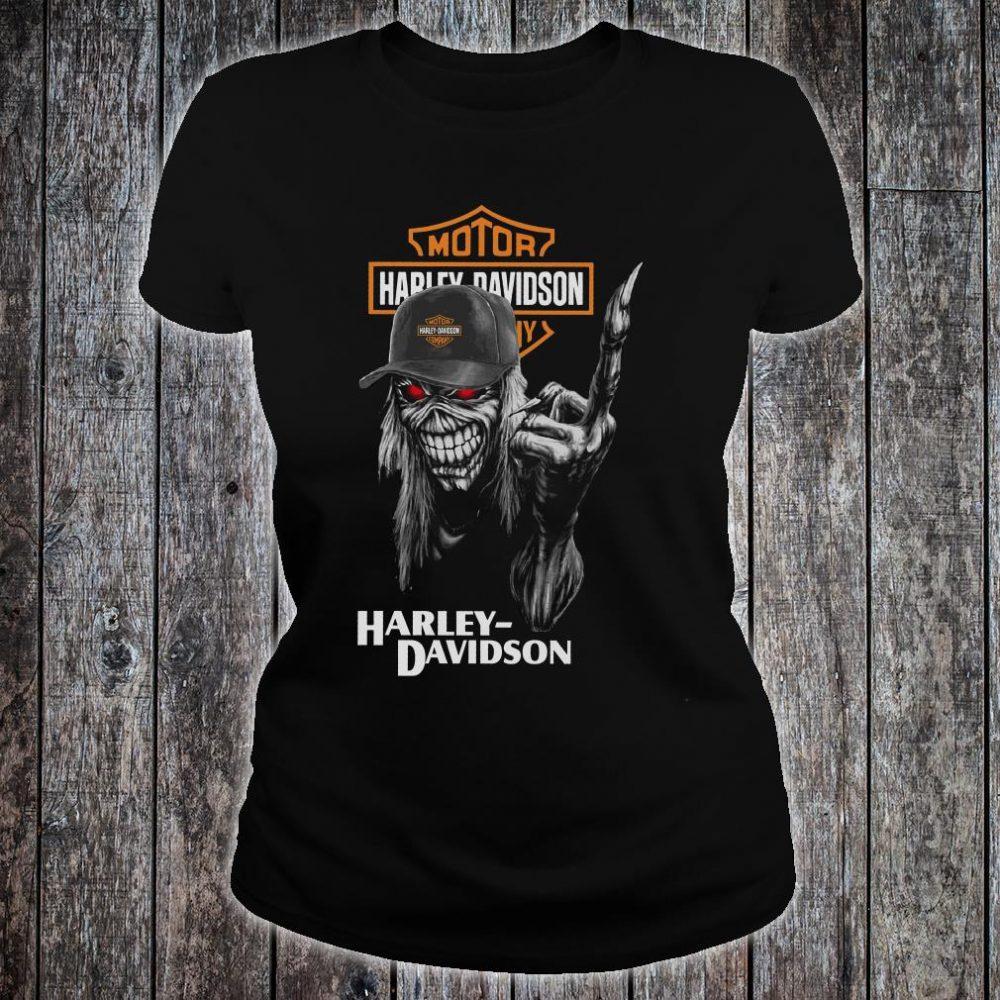 Motor Harley Davidson shirt ladies tee