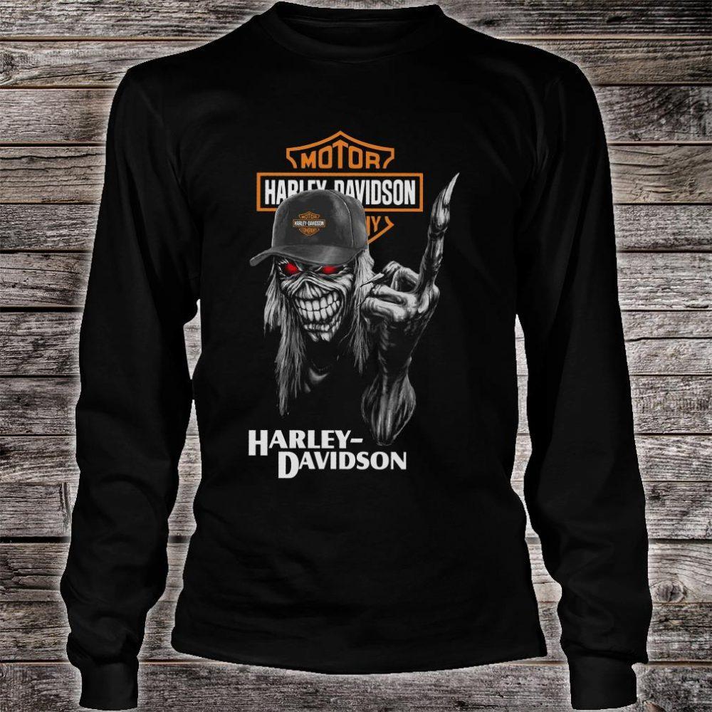 Motor Harley Davidson shirt long sleeved