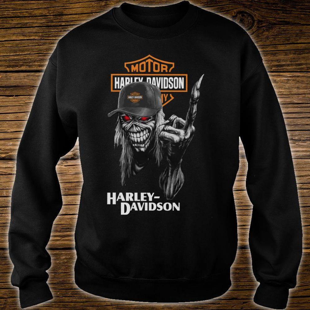 Motor Harley Davidson shirt sweater