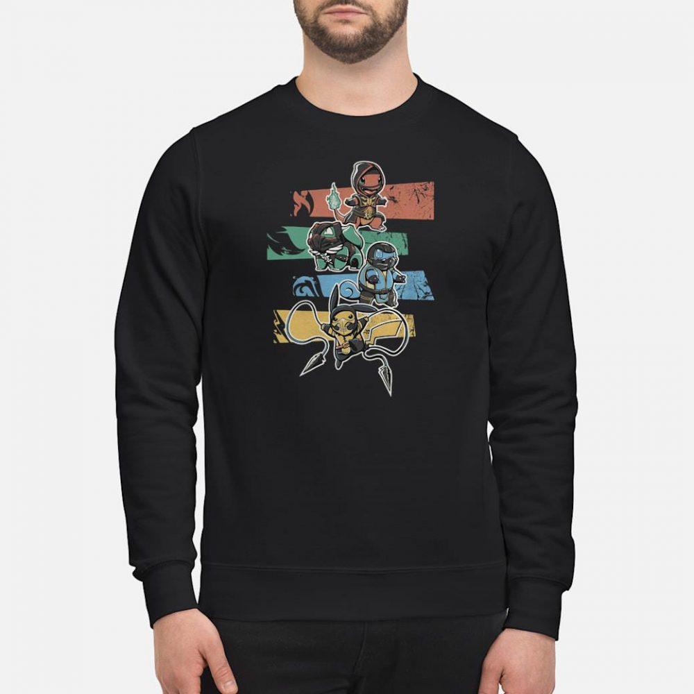 Poke Kombat shirt sweater