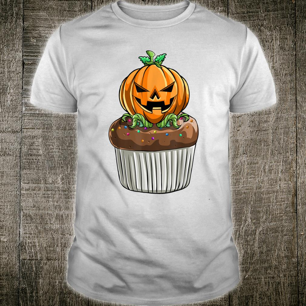 Pumpkin Cupcake Halloween Scary Shirt