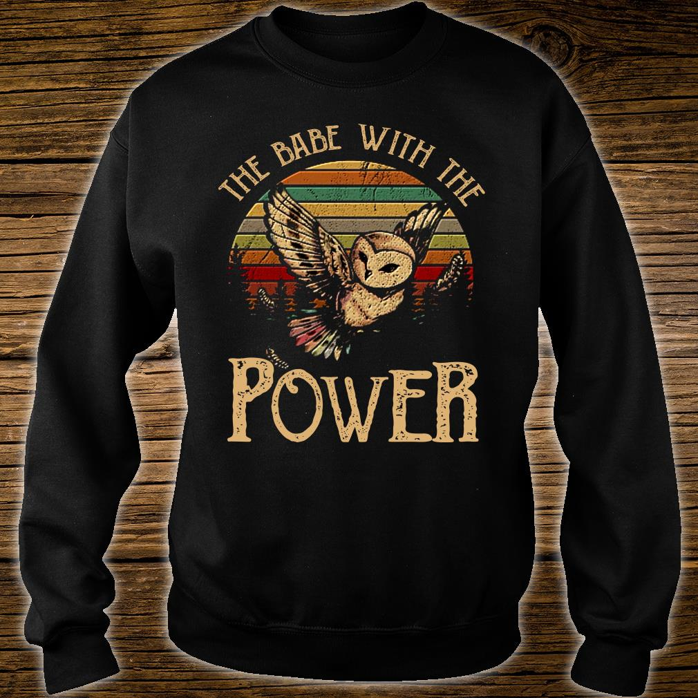 SPECIAL Owl the babe with the power shirt sweater