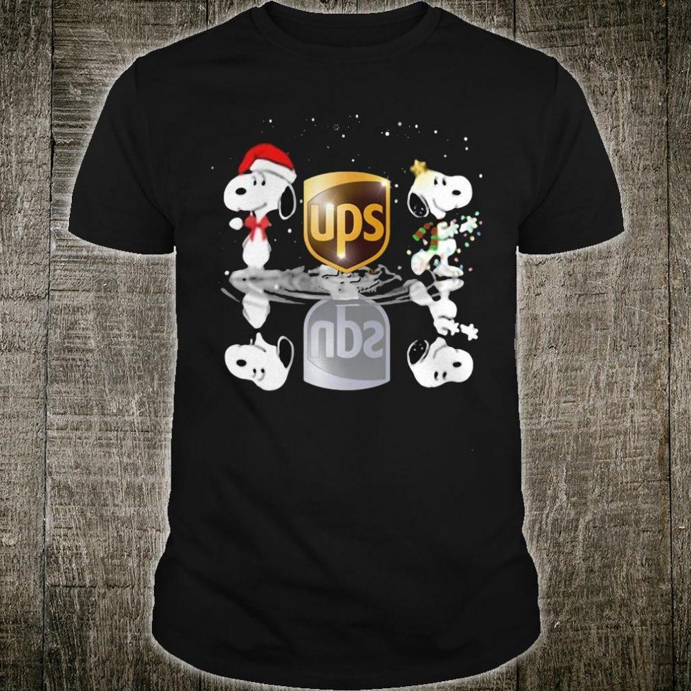 Snoopy Santa Ups shirt