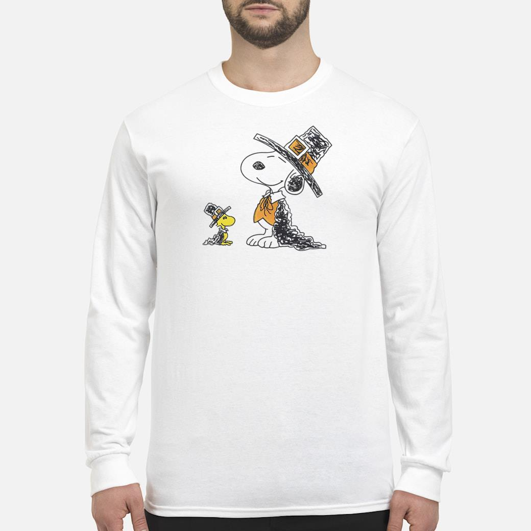 Snoopy and Woodstock shirt long sleeved