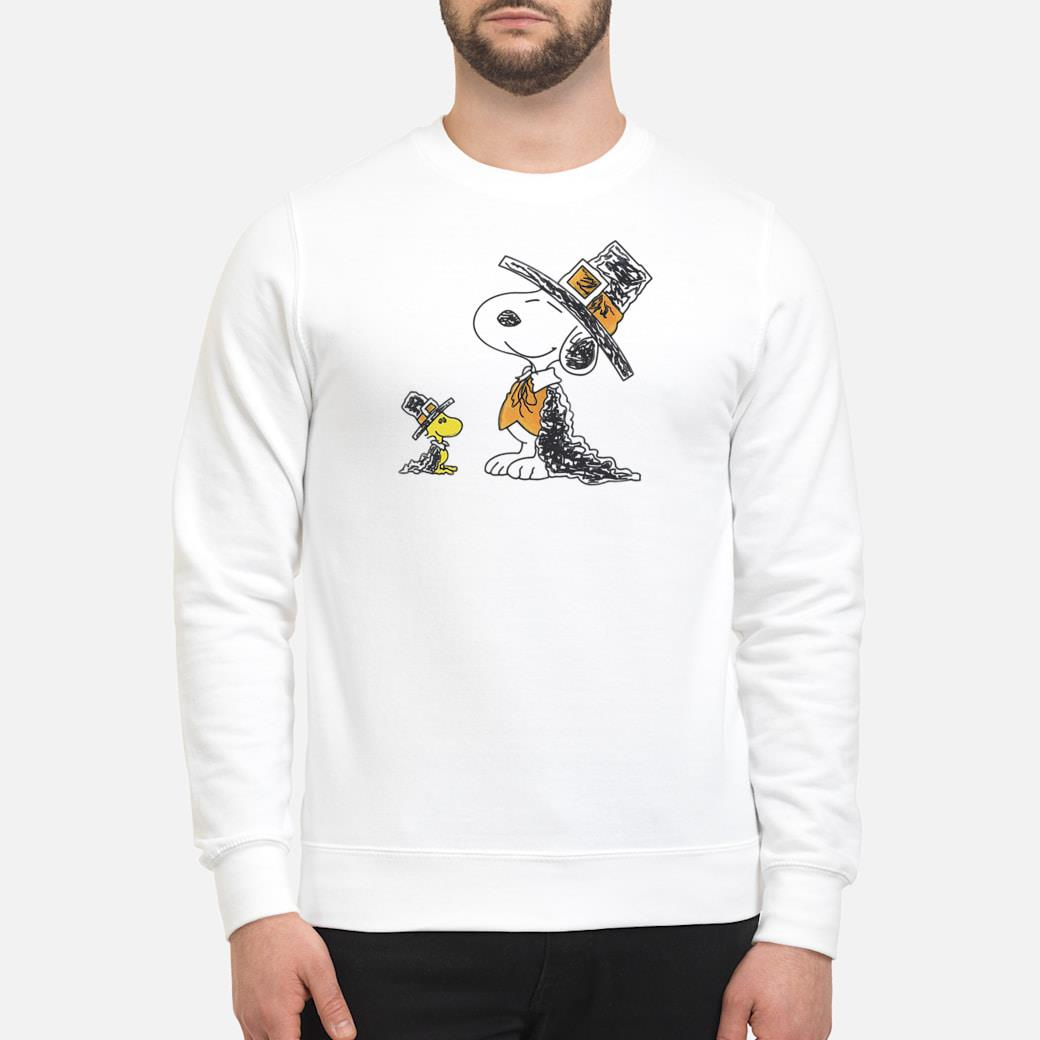 Snoopy and Woodstock shirt sweater