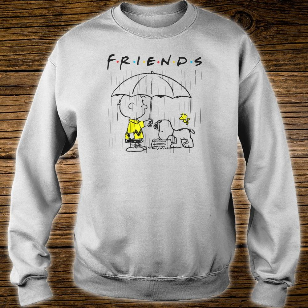 Snoopy and friends Friends TV show shirt sweater
