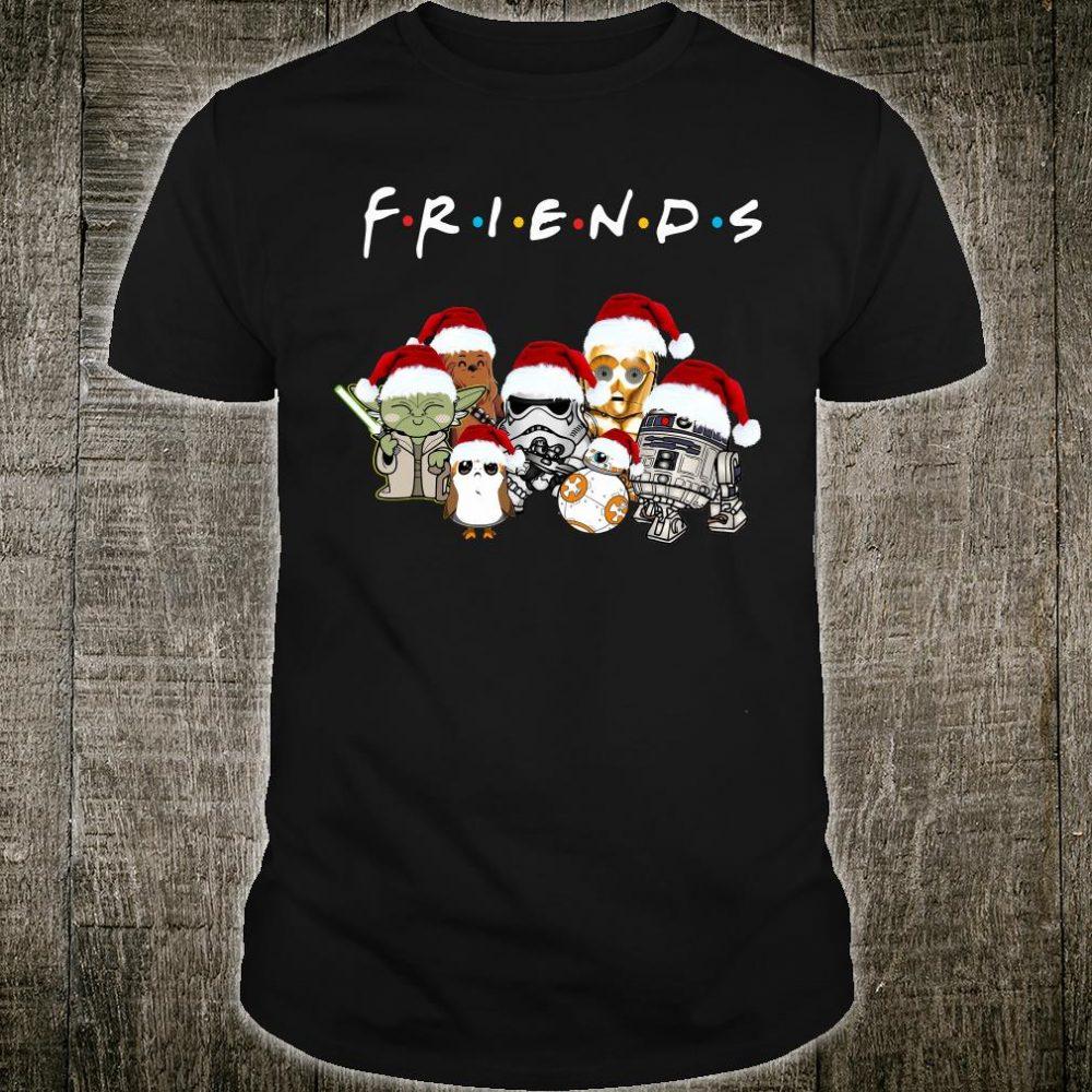 Star War Christmas friends TV show shirt
