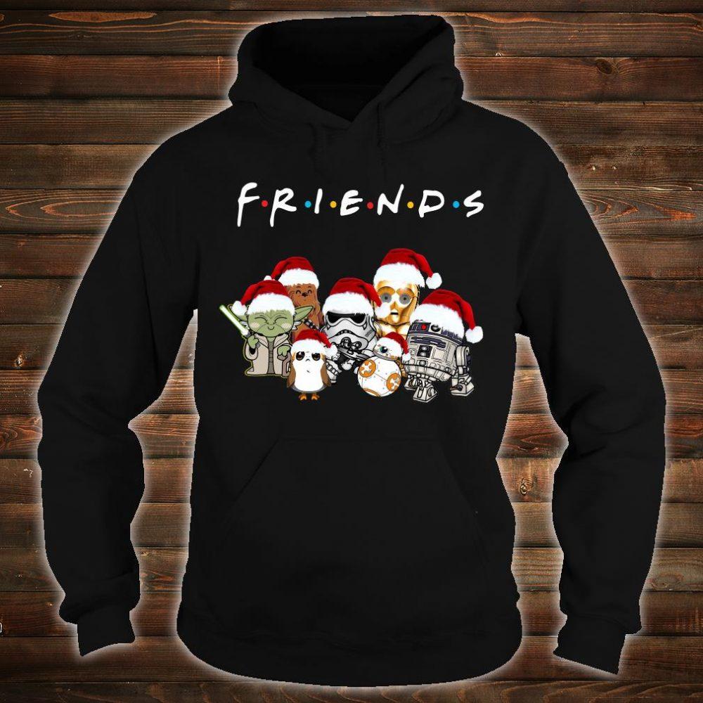 Star War Christmas friends TV show shirt hoodie