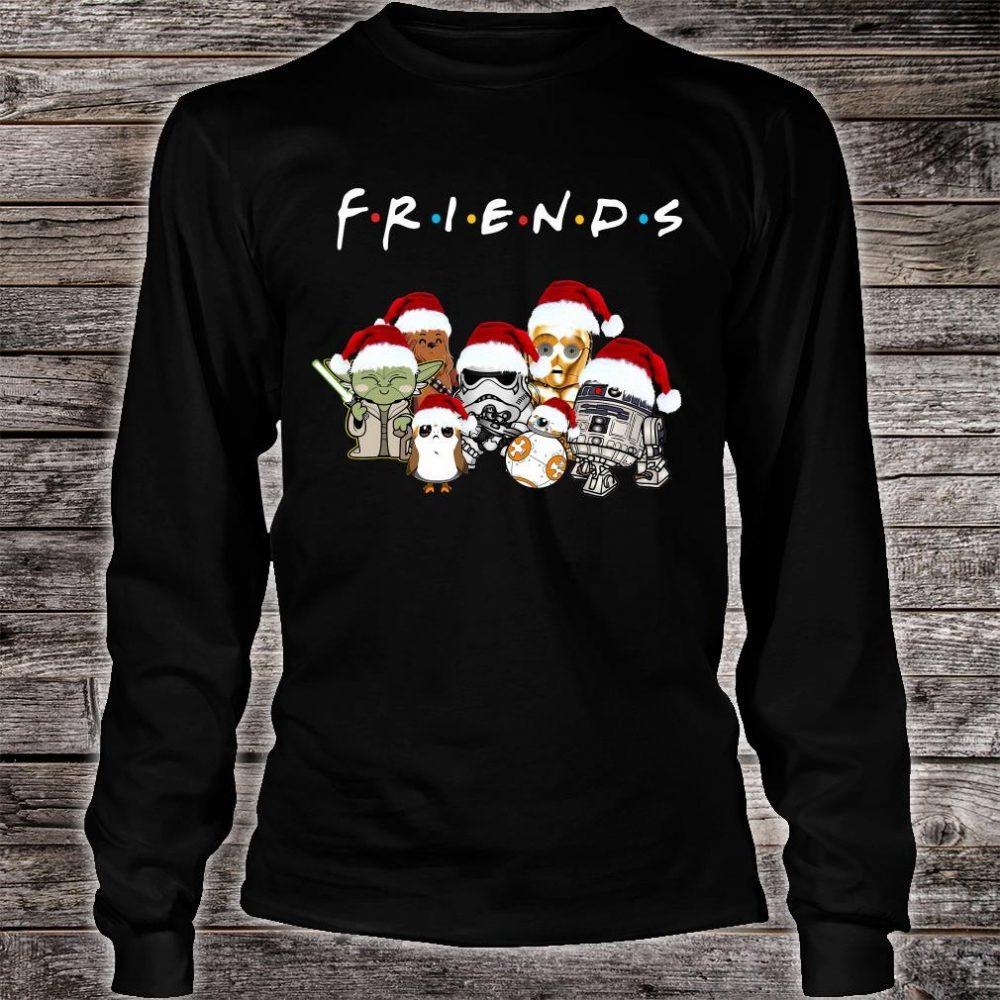 Star War Christmas friends TV show shirt long sleeved