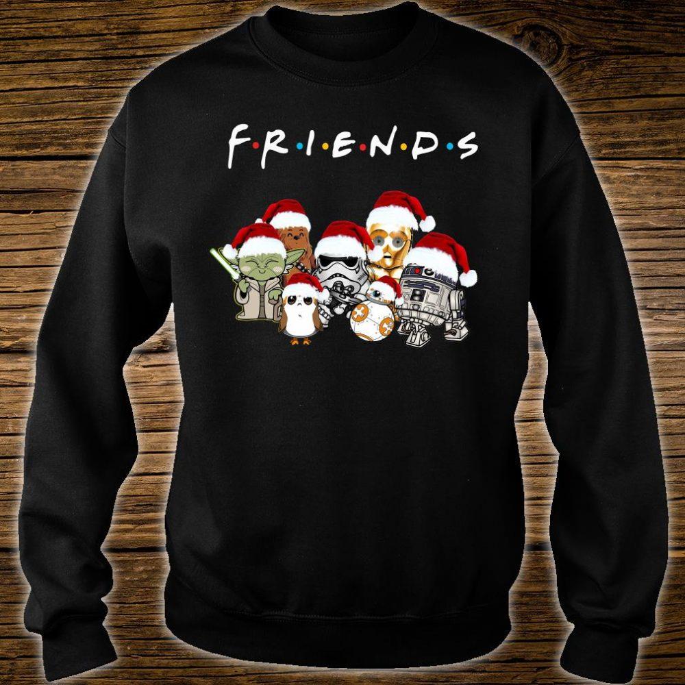 Star War Christmas friends TV show shirt sweater