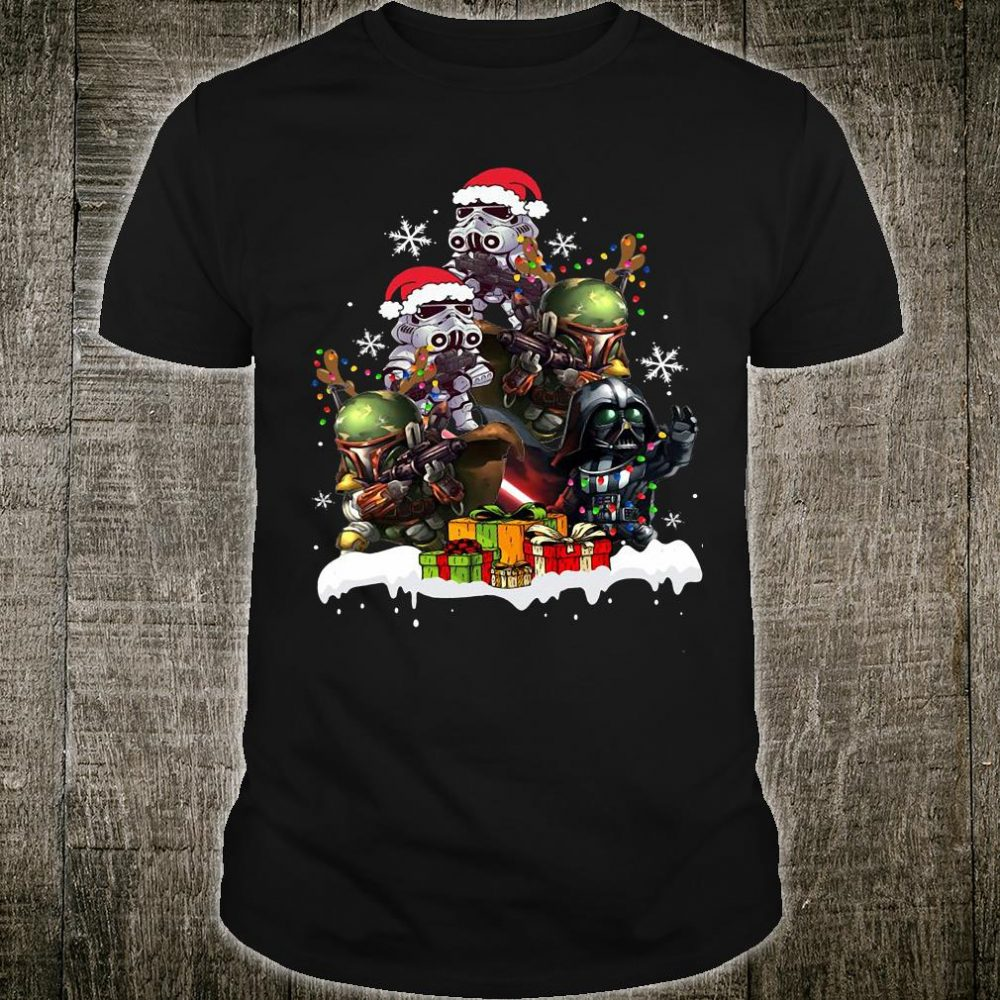 Star War christmas shirt
