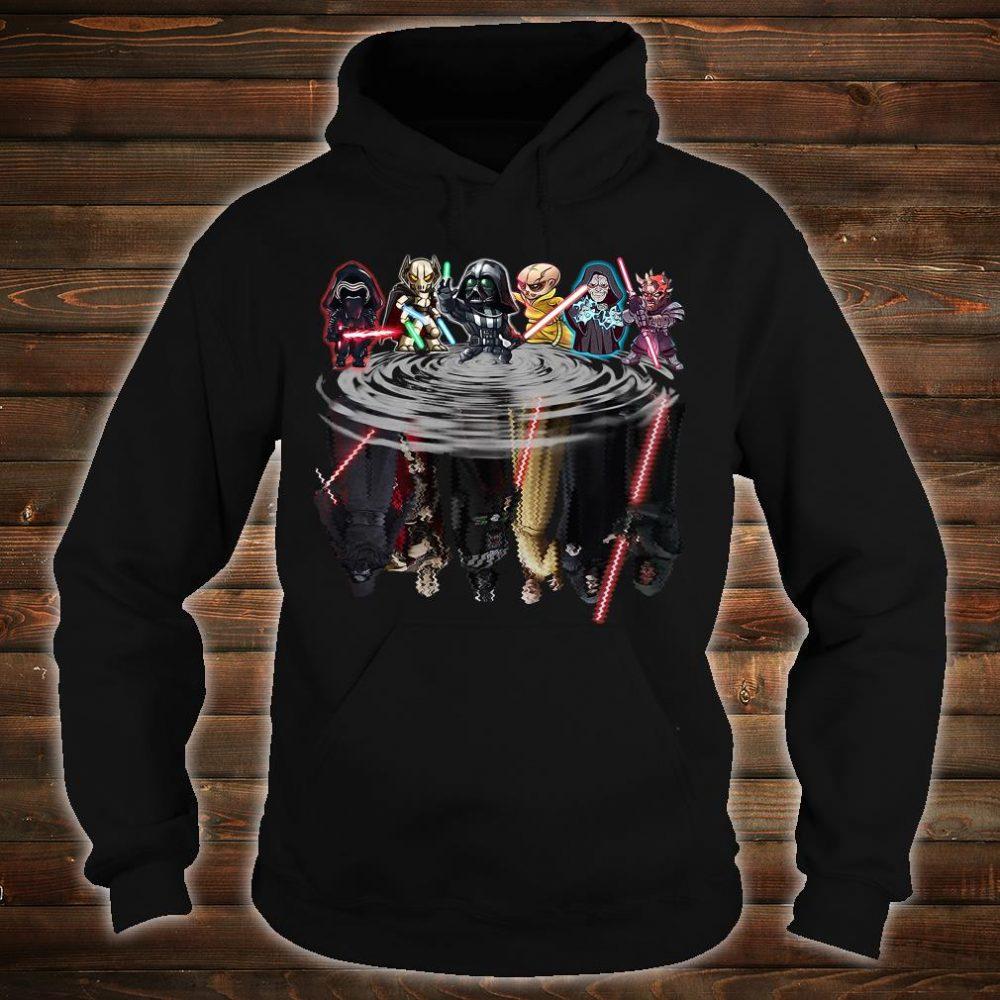 Star Wars characters water shirt hoodie