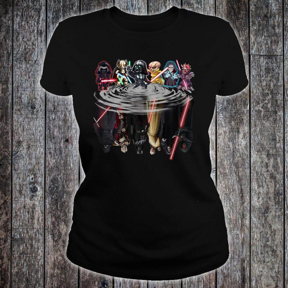 Star Wars characters water shirt ladies tee