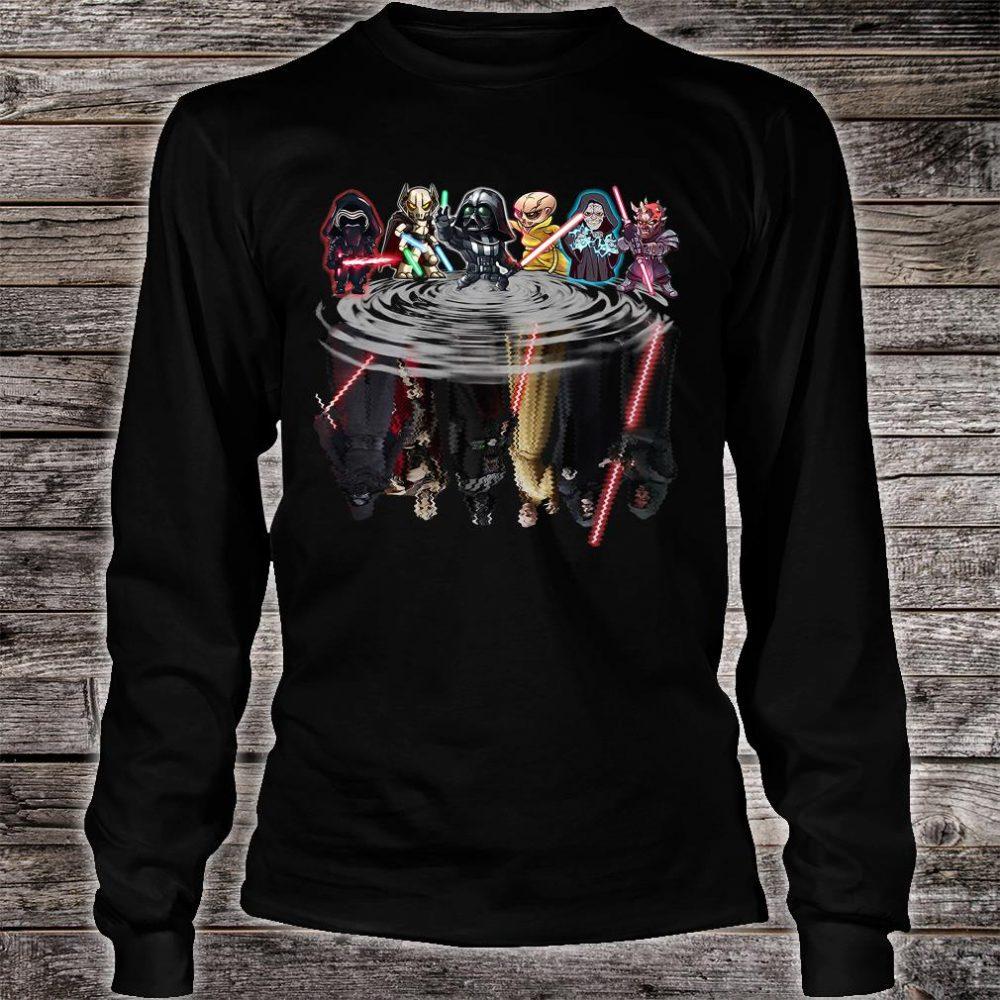 Star Wars characters water shirt long sleeved