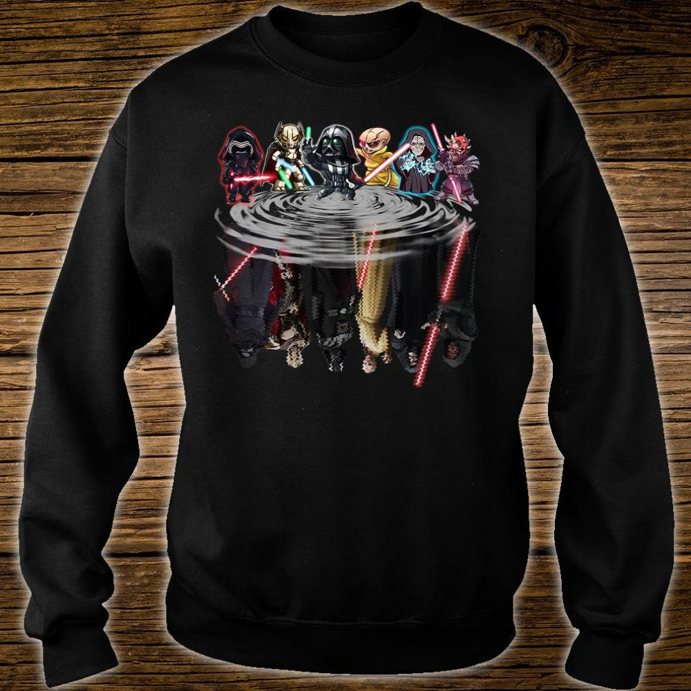 Star Wars characters water shirt sweater