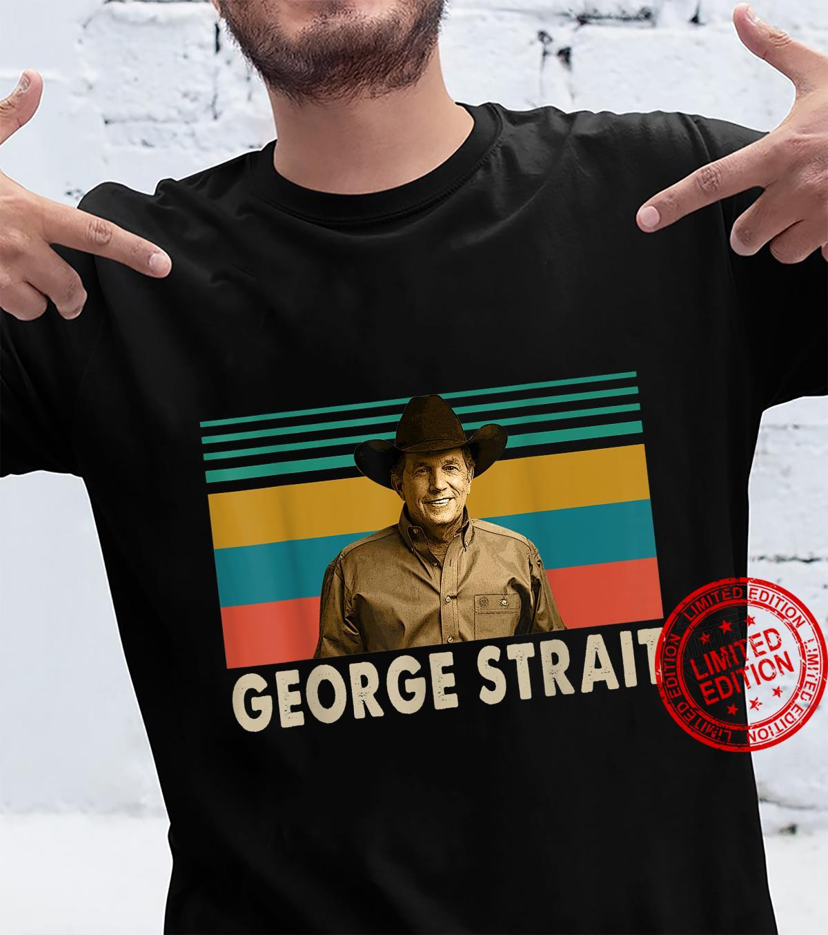 Thank You For The Memories Vintage George Art Strait Legends Shirt