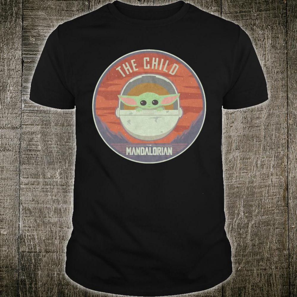 The child the Mandalorian shirt
