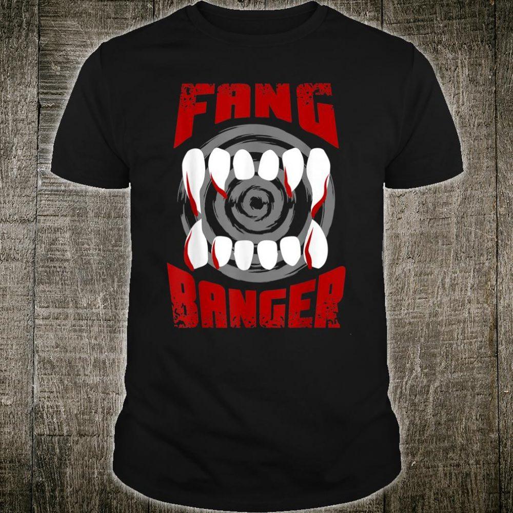 Vampire Fang Banger Halloween Love Vampires Shirt
