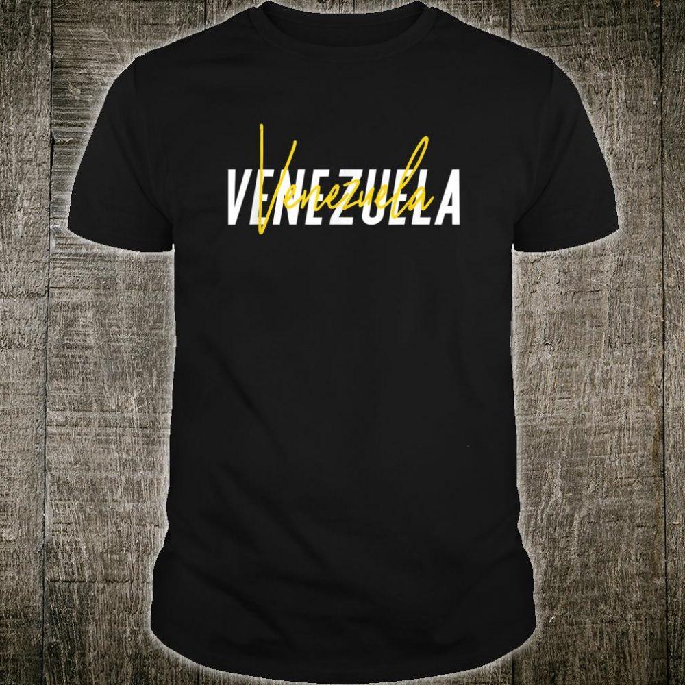 Venezuela 7 Star Flag Camiseta Playera Venezuela Shirt