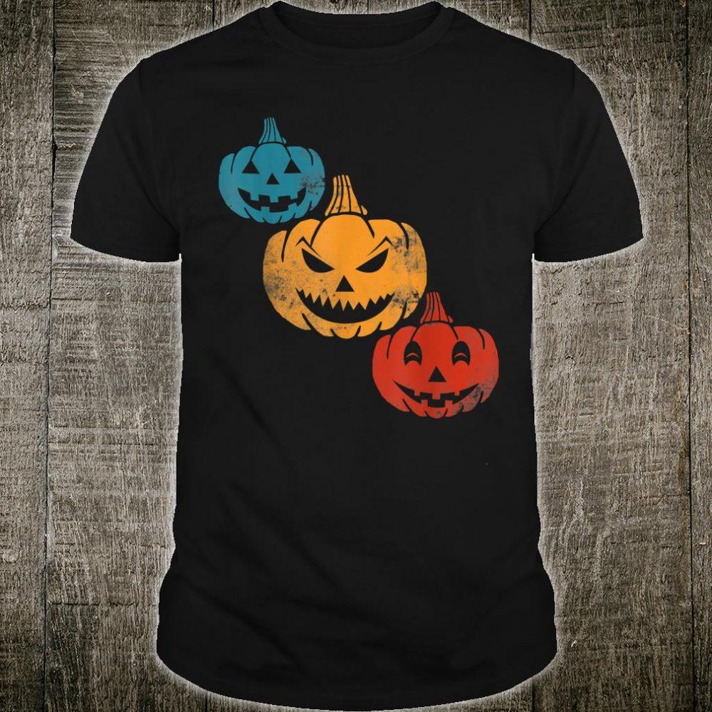 Vintage Halloween Pumpkin 2019 Costume Shirt