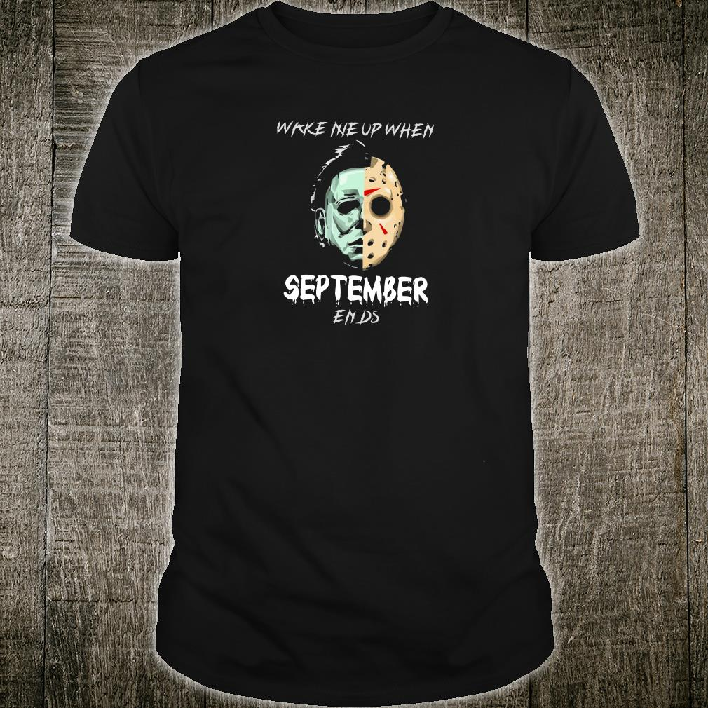 Wake me up when september ends shirt