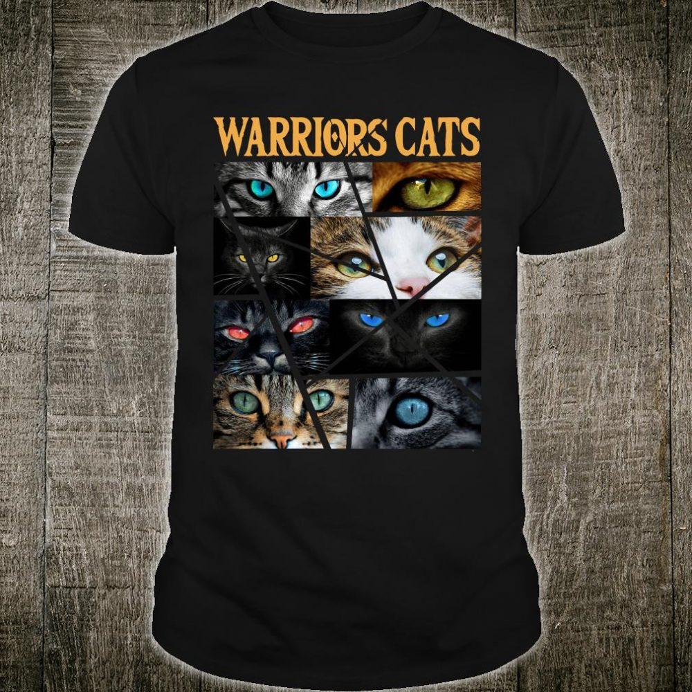 Warriors cats shirt