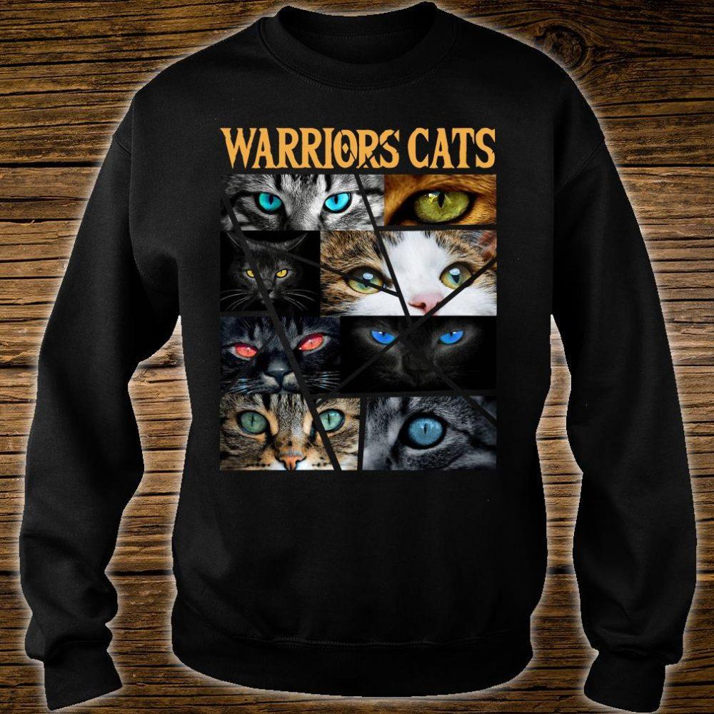 Warriors cats shirt sweater